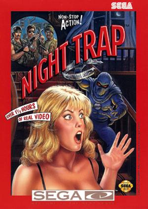 Night Trap - Image: Night Trap Sega CD coverart