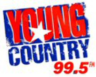 """WYCD - Original logo used during """"Young Country""""  (1993–1998)"""
