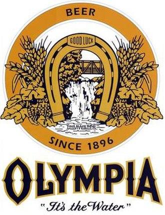 Olympia Brewing Company - Image: Olympiabeerlogoforin fobox