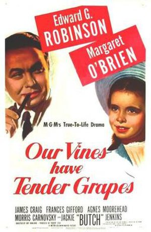 Our Vines Have Tender Grapes - Theatrical poster