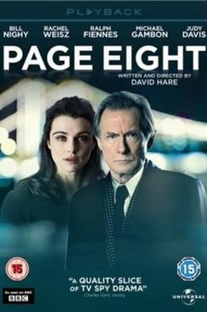 Page Eight - UK DVD cover