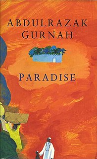 <i>Paradise</i> (Gurnah novel) 1994 historical novel by Abdulrazak Gurnah