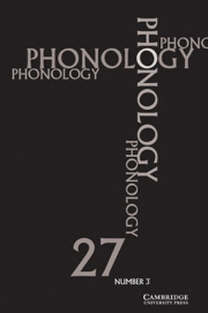 Phonology (journal) - Image: Phonology (journal)