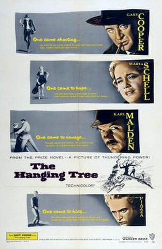 The Hanging Tree - Image: Poster of the movie The Hanging Tree