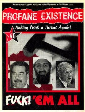 Profane Existence - Image: Profane Existence number 40