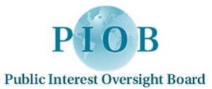 Public Interest Oversight Board - Image: Public Interest Oversight Board (logo)