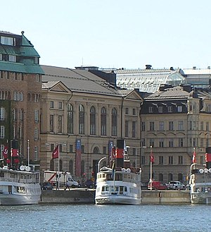 Royal Swedish Academy of Music - The former house of The Academy of Music as viewed from Strandvägen in May 2008.