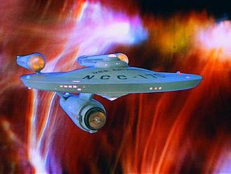Star Trek: The Original Series - The original starship Enterprise