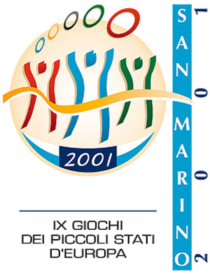 2001 Games of the Small States of Europe - Image: San Marino 2001logo