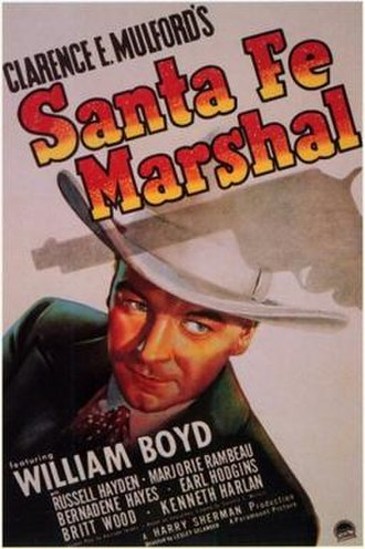 Santa Fe Marshal - Theatrical release poster