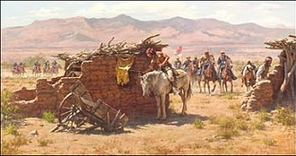 Howard Terpning - Search for the Renegades by © Howard Terpning
