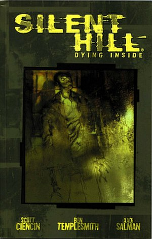 Silent Hill (comics) - Silent Hill: Dying Inside cover