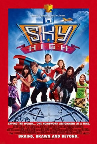 Sky High (2005 film) - Theatrical release poster