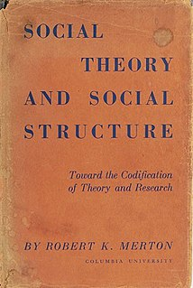 <i>Social Theory and Social Structure</i>