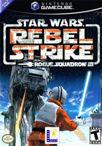 Star Wars Rogue Squadron III: Rebel Strike - North American cover art