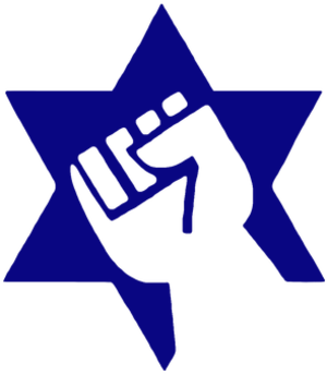 Jewish Defense League - Image: Star and Fist Logo