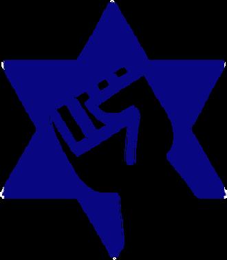 Jewish Defense League - Image: Star and Fist Logo