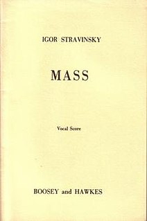 Mass (Stravinsky)