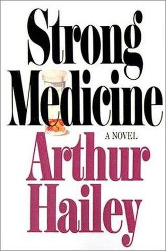 Strong Medicine (novel) - Front cover