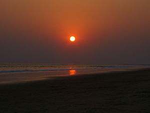 Beleswar Temple - Sunrise at Beleswar Beach