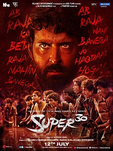 Super 30 (2019) Hindi Movie 720p v2 Pre-DVDRip x264 [1.2GB]