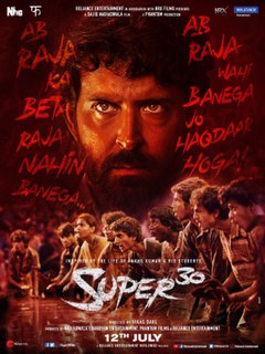 <i>Super 30</i> (film) 2018 Indian Hindi-language biographical film