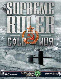 Supreme Ruler Cold War cover