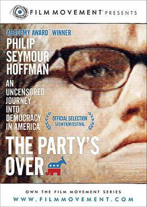 The Party's Over (2001 film) - DVD cover