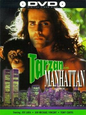 Tarzan in Manhattan - DVD cover