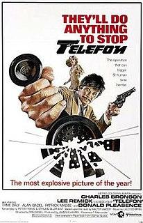 <i>Telefon</i> (film) 1977 film by Don Siegel