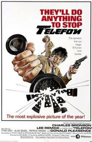 Telefon (film) - theatrical poster