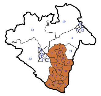 Telford and Wrekin - Image: Telford Parishes