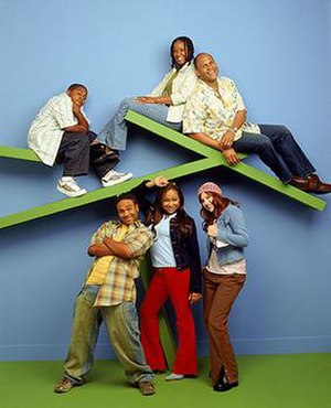 That's So Raven - The cast of That's So Raven (seasons 1-3), (From left to right, above): Kyle Massey (Cory Baxter), T'Keyah Crystal Keymáh (Tanya Baxter), Rondell Sheridan (Victor Baxter), (From left to right, below): Orlando Brown (Eddie Thomas), Raven-Symoné (Raven Baxter) and Anneliese van der Pol (Chelsea Daniels).