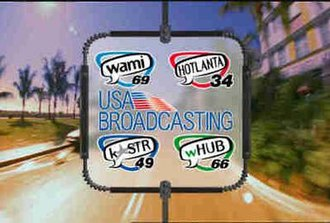 USA Broadcasting - Logos of the stations USA Broadcasting converted to its local TV model.