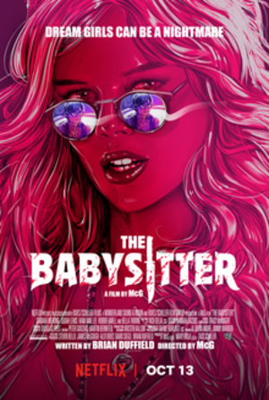 The Babysitter (2017 film) - Film poster