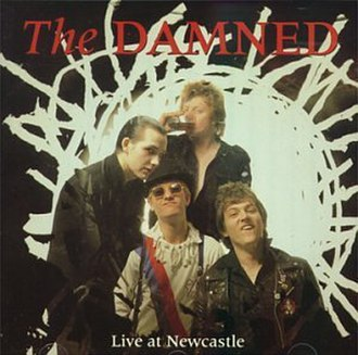 Live at Newcastle - Image: The Damned Live at Newcastle cover