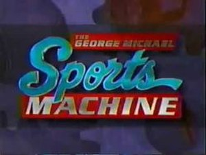 The George Michael Sports Machine - Image: The George Michael Sports Machine logo (1994 2007)