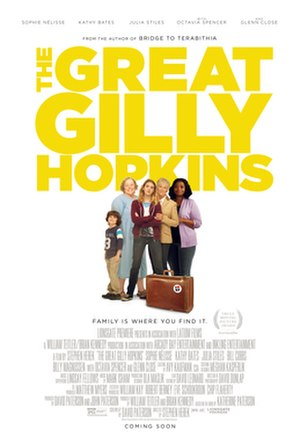 The Great Gilly Hopkins (film) - Theatrical release poster