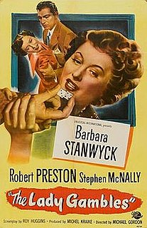 <i>The Lady Gambles</i> 1949 film by Michael Gordon