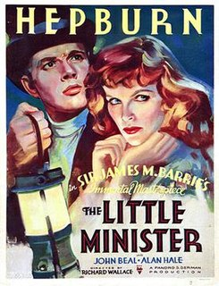 <i>The Little Minister</i> (1934 film) 1934 film by Richard Wallace