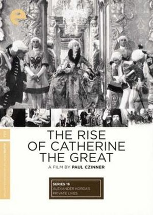 The Rise of Catherine the Great - Image: The Rise of Catherine the Great Film Poster