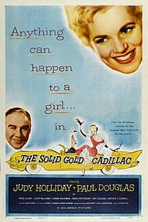 <i>The Solid Gold Cadillac</i> 1956 film by Richard Quine