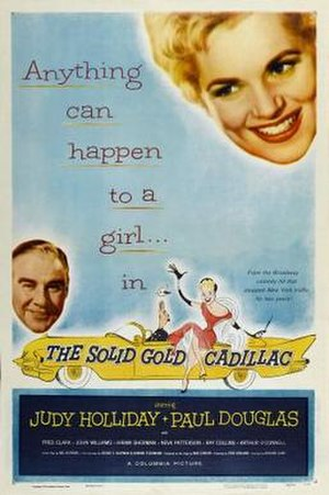 The Solid Gold Cadillac - Image: The Solid Gold Cadillac Film Poster