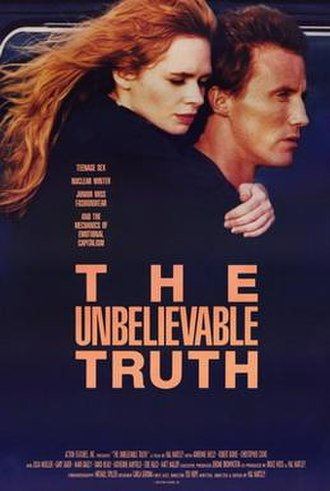 The Unbelievable Truth (film) - Poster