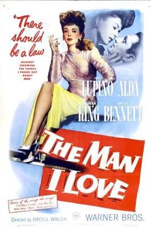 The Man I Love (1947 film) - Theatrical release poster