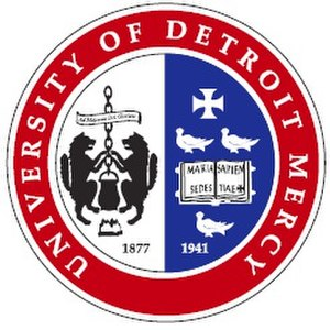 University of Detroit Mercy School of Dentistry - Image: UDM Color Seal