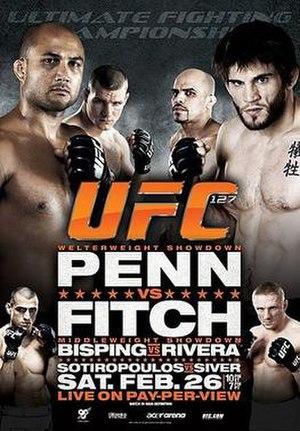 UFC 127 - Image: UFC 127 poster