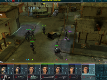 Screenshot of the game battle mode