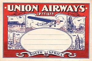 Union Airways - Union Airways PTY LTD