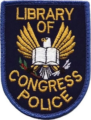 Library of Congress Police - Image: United States Library of Congress Police